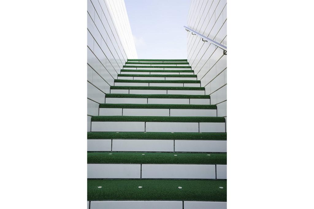 lego trappe grøn